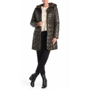 New Kenneth Cole Puffer Coat 0295